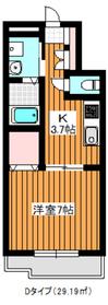 サンハイム3階Fの間取り画像