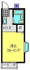 ファミール2階Fの間取り画像