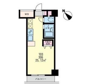 プリマヴェーラ・フェスタ4階Fの間取り画像
