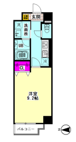メゾン・ドゥ・クロシェット 101号室