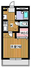 デルニエワコー22階Fの間取り画像