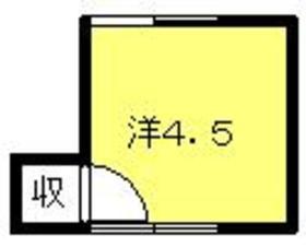 大久保荘2階Fの間取り画像
