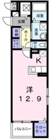 ブルージュ1階Fの間取り画像