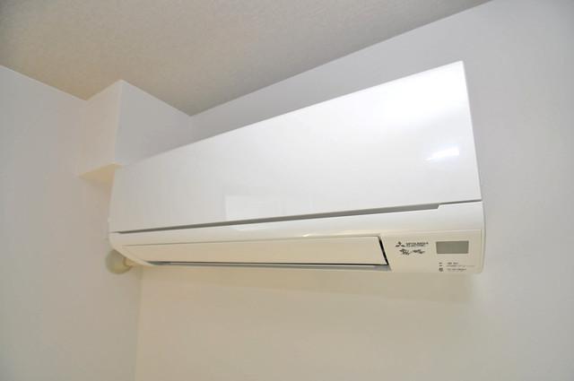 ブライト近大前 エアコンが最初からついているなんて、本当に助かりますね。