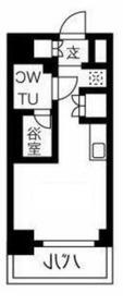 クラリッサ横浜フロード2階Fの間取り画像