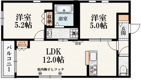西武柳沢駅 徒歩32分3階Fの間取り画像