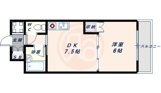 13階の間取り図