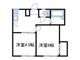 エステートピア福島2階Fの間取り画像