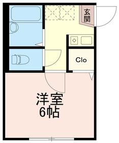 第3廣田マンション2階Fの間取り画像