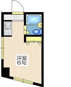 グランドール・タカラ4階Fの間取り画像