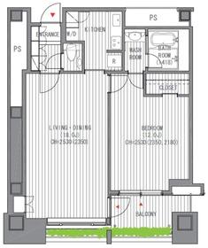 オランダヒルズ森タワーRop5階Fの間取り画像