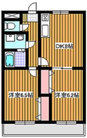 地下鉄成増駅 徒歩4分1階Fの間取り画像
