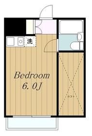 相武台前駅 徒歩10分3階Fの間取り画像