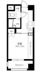 武蔵小杉駅 徒歩20分4階Fの間取り画像