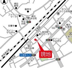 Orge鶴見案内図
