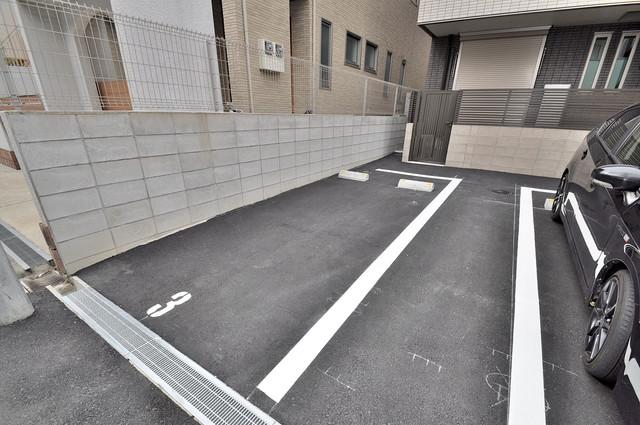 ma.maison(マ.メゾン) 敷地内には駐車場があり安心ですね。