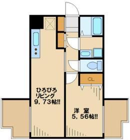 ウインベルコーラス聖蹟桜ヶ丘8階Fの間取り画像