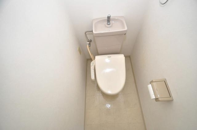 パラドール永和 スタンダードなトイレは清潔感があって、リラックス出来ます。