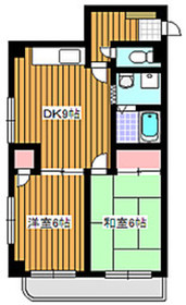 高島平駅 徒歩20分1階Fの間取り画像