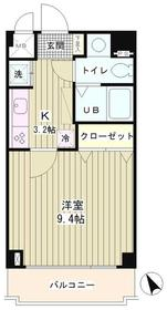 ラフィネ築地3階Fの間取り画像