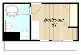 コンフォートマンション2階Fの間取り画像