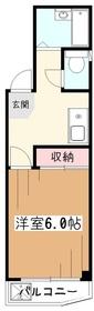 リバーサイド藤2階Fの間取り画像