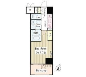 パークサイド湯島台2階Fの間取り画像