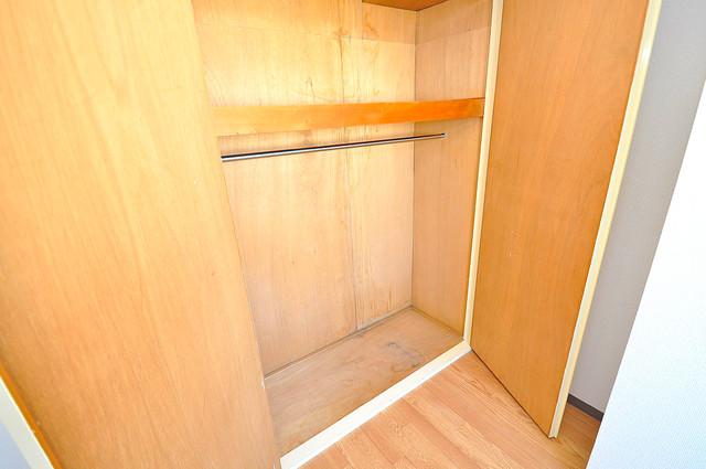 TSUJIHANAビルディング 各所に収納があるので、お部屋がすっきり片付きますね。