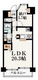 江戸川橋駅 徒歩1分10階Fの間取り画像
