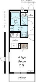リブリ・ローズガーデン2階Fの間取り画像