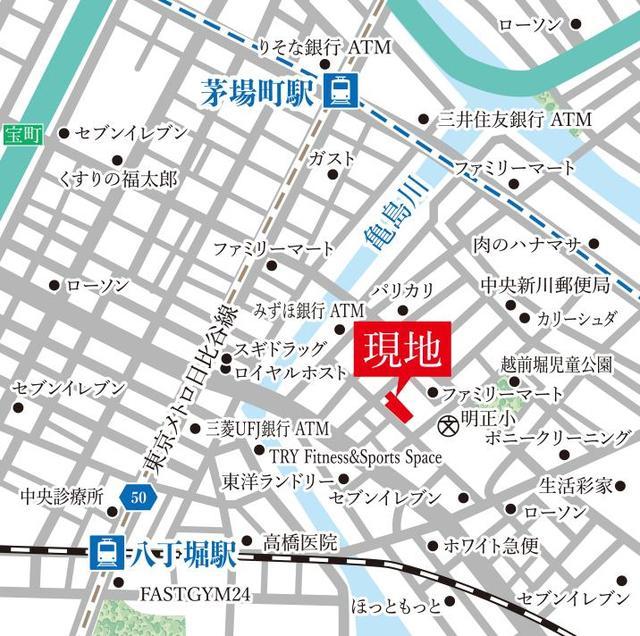 ザ・グランクラッセ日本橋イースト案内図
