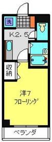 武蔵新城駅 徒歩1分2階Fの間取り画像
