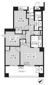 上永谷駅 徒歩2分6階Fの間取り画像