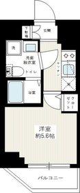イアース横濱赤門町4階Fの間取り画像