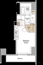 ザ・パークハビオ赤羽4階Fの間取り画像