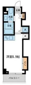 ミテッツァ矢向1階Fの間取り画像