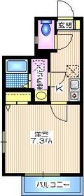 テラス桐ヶ谷1階Fの間取り画像