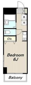 ビラエトワール3階Fの間取り画像