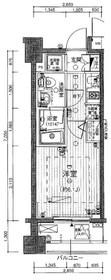 ガーラ・ステーション菊川6階Fの間取り画像