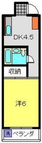 元住吉駅 徒歩19分3階Fの間取り画像