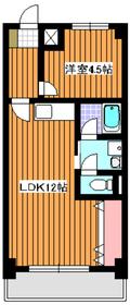 成増駅 徒歩8分3階Fの間取り画像