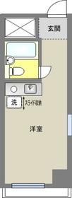 笹塚駅 徒歩5分9階Fの間取り画像