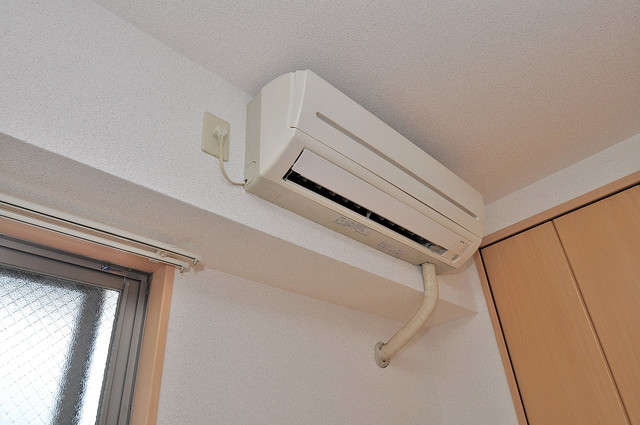 Celeb布施東 エアコンが最初からついているなんて、本当に助かりますね。
