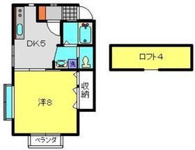 クレーンヒル1階Fの間取り画像