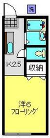 高田駅 徒歩5分1階Fの間取り画像