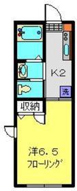 新丸子駅 徒歩15分1階Fの間取り画像