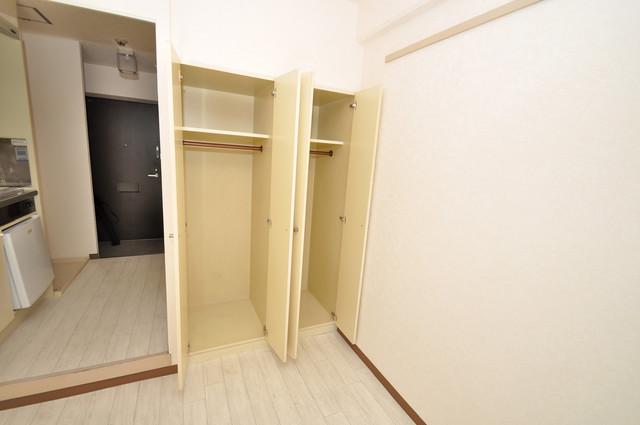 グランピア布施 もちろん収納スペースも確保。いたれりつくせりのお部屋です。