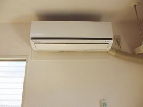 エアコン完備のお部屋です。