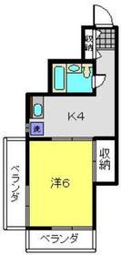 天王町駅 徒歩27分7階Fの間取り画像
