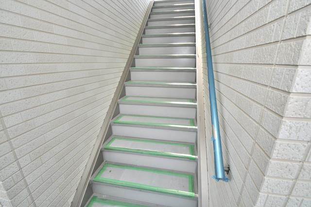 インペリアルライフ この階段を登った先にあなたの新生活が待っていますよ。
